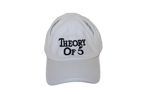 White Theory of 5 Runners Cap