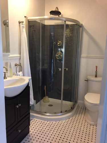 Sink Shower and Toilet Installation