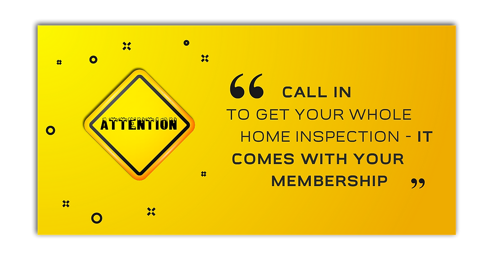 Whole Home Service Club Membership for Homeowners