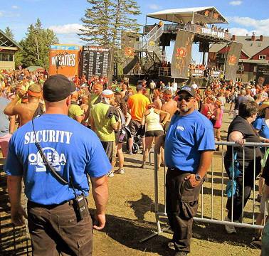 Tough Mudder Event Security
