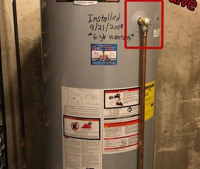 Why is my water heater leaking from the bottom?
