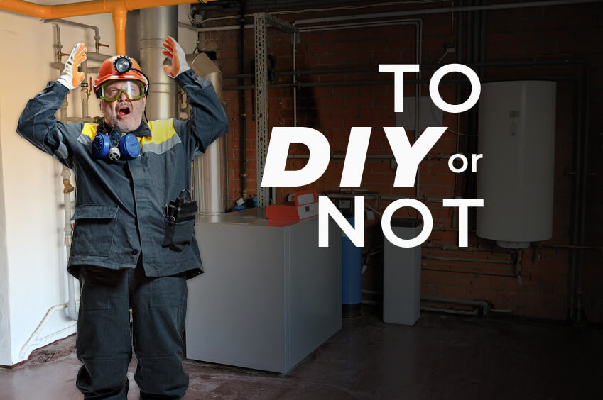 DIY or Hire Boiler Cleaning Service