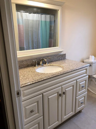 Second Floor Sink Installation
