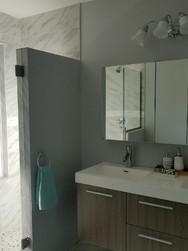 Contemporary Shower and Bathroom Install