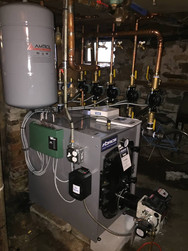 Basement Boiler Installation