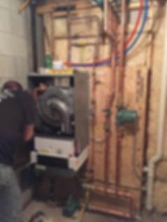 Installation a Wall Mount Boiler.JPG