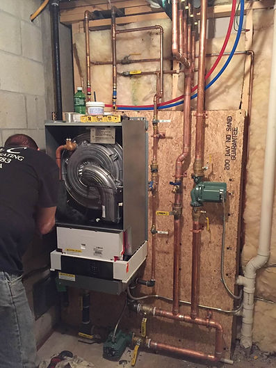Installation a Wall Mount Boiler.JPG