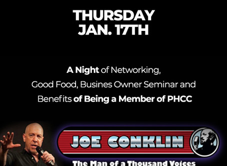 A Night of Networking with Joe Conklin