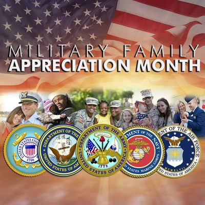 Celebrating the Month of the Military Family