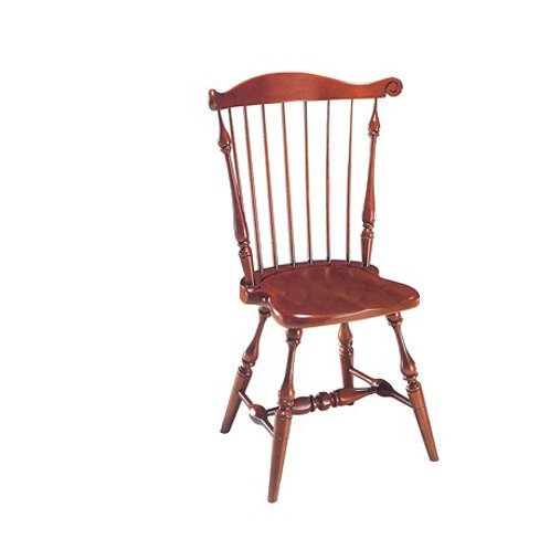 10 Comb Back Side Chair