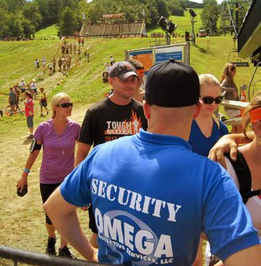 Tough Mudder Security Services