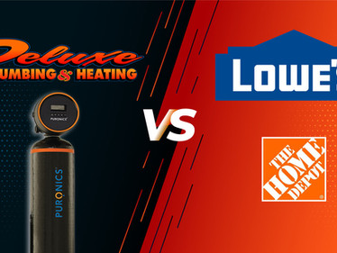 Should I Purchase A Water Softener from Lowe's Or Home Depot?