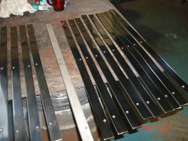 Polished Flat Bar