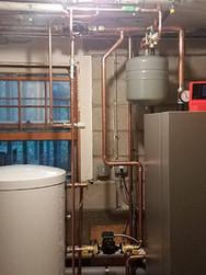 Water Heater Installation in Basement