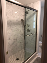 Marble Stand-in Shower Ideas