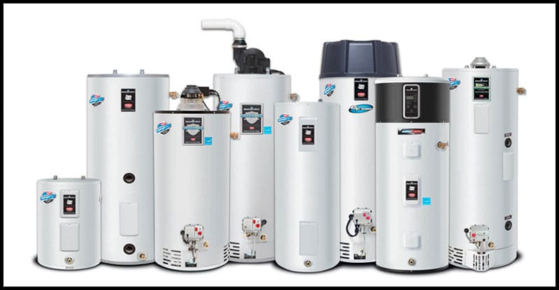 Right water heater size for family of 4