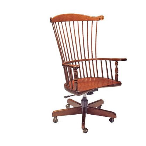 22S Gentleman's Arm exec/tilt/swivel chair