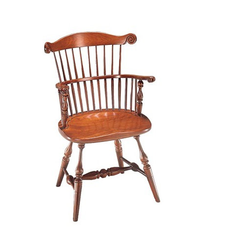 82 Governor Arm Chair with Carved Knuckles