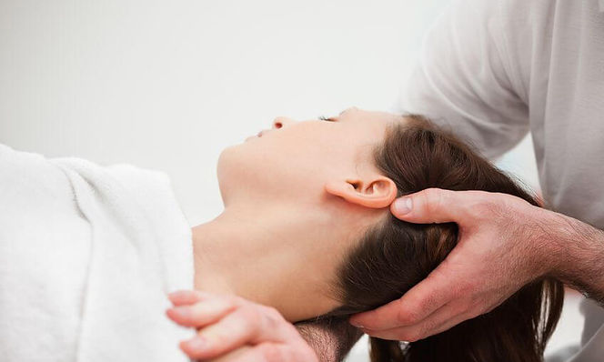 Craniosacral Therapy Example of Hands On therapy
