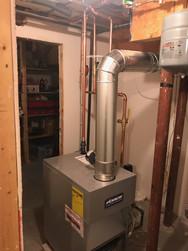 Boiler Installation in Small Room