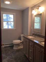Double Sink and Toilet Installation