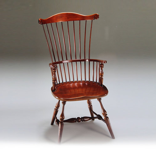 80-H High Back Governor Arm Chair