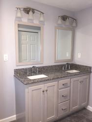 Double Sink Marble Countertop Faucet Fix