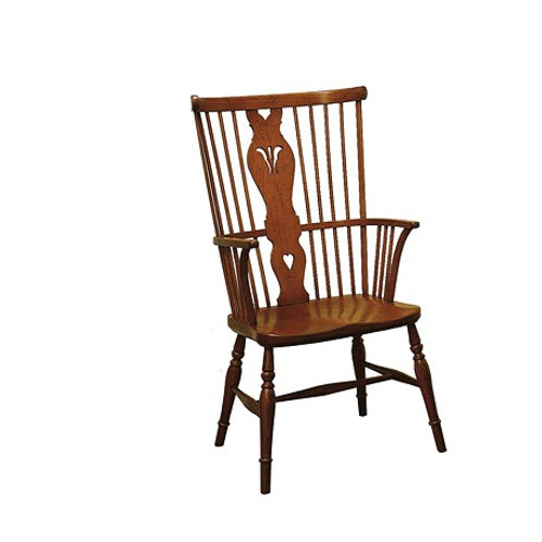 7144 English Windsor Arm Chair