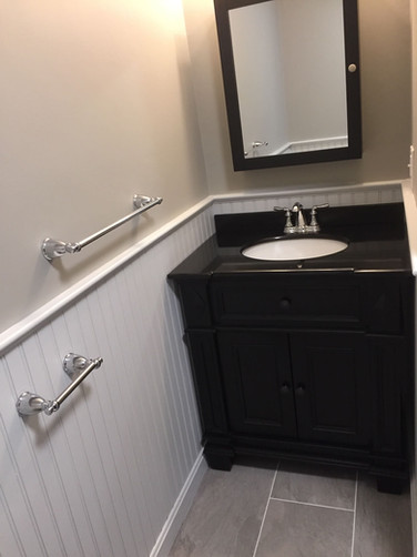 Sink and Vanity Installation