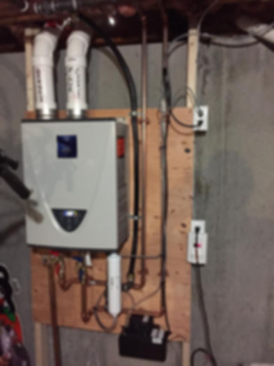 Tankless Water Heater Installation Full