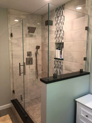 Glass Wall and Shower Fixtures
