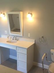 Handicap Bathroom Installation