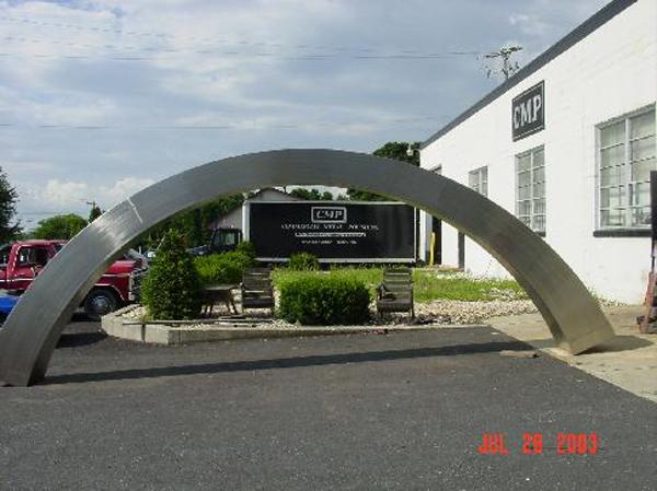 Arch Sculpture Camden NJ