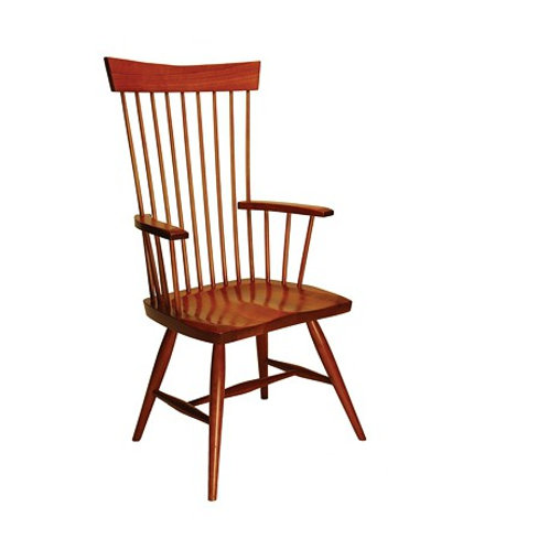 68 American Contemporary High Back Arm Chair