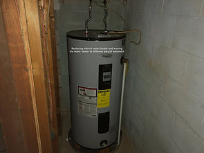 Electric Water Heater Install