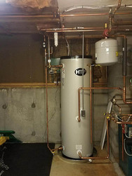 Water Heater Installation setup
