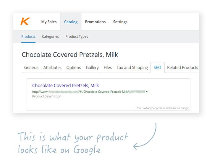 SEO Optimized eCommerce Products
