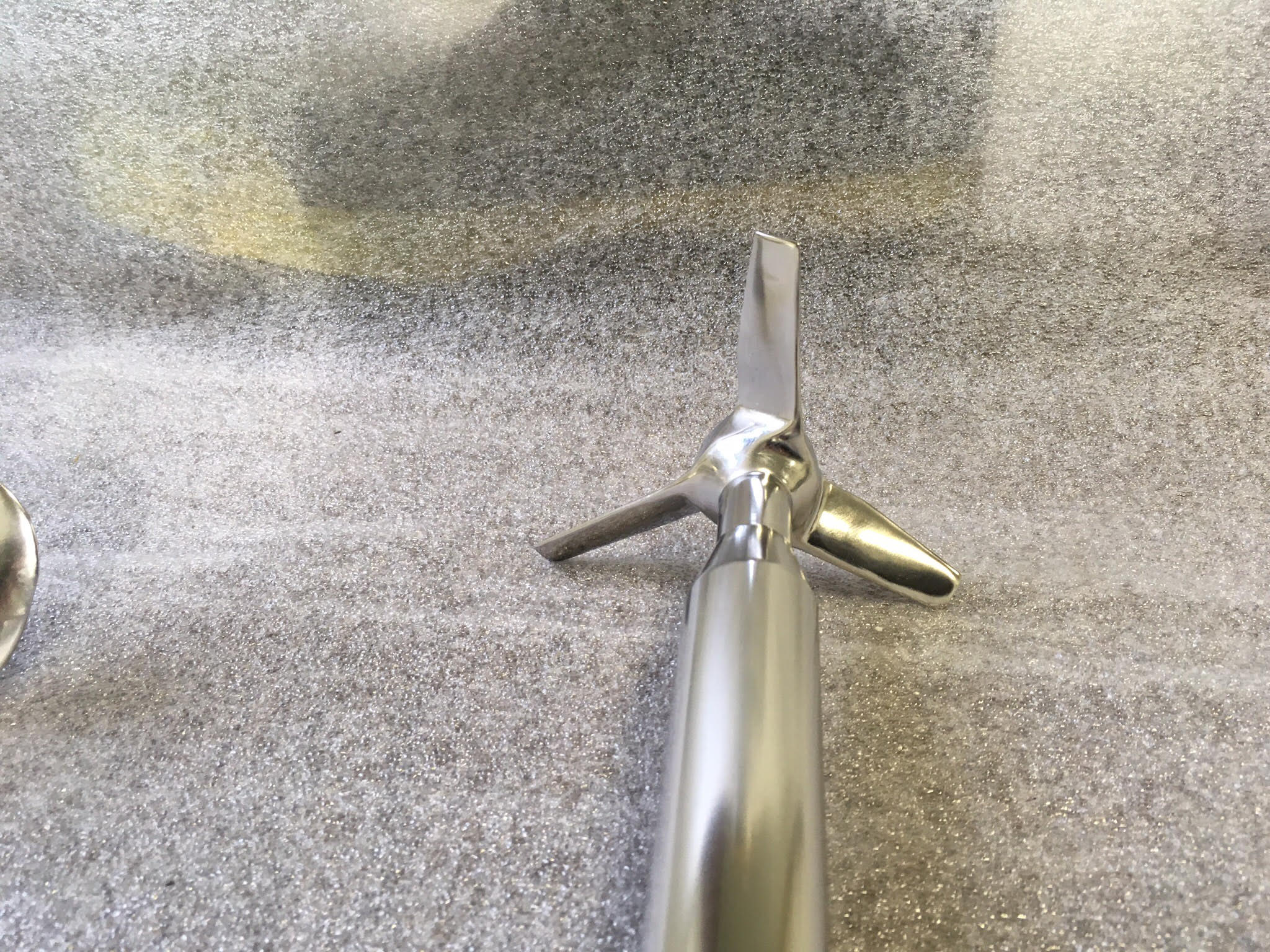 Electropolishing Small Propeller