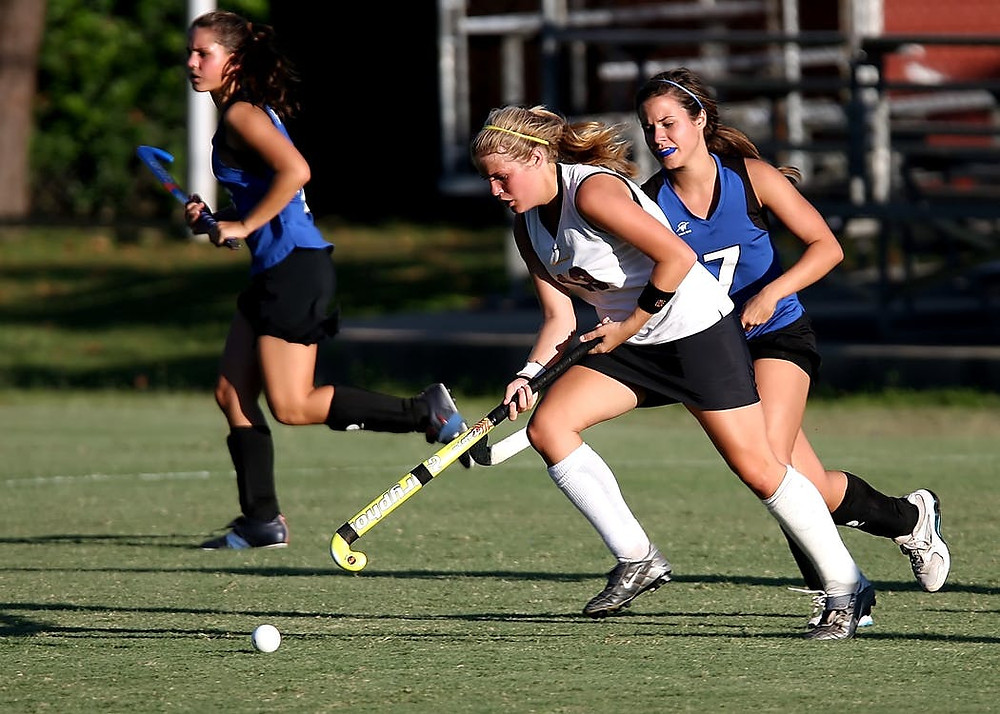 Field Hockey Girls Wearing Mouthguards | Fairview Dental Arts