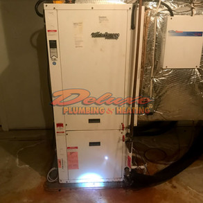 Furnace leaking water when heat is on [4 possible causes]