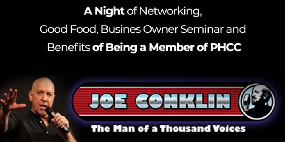 Comedian - Joe Conklin / A Night of Networking