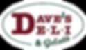 Dave's Deli and Gelato Logo