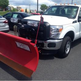Large Snow Plow