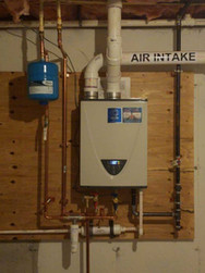 Wall Mount State Select Water Heater Set