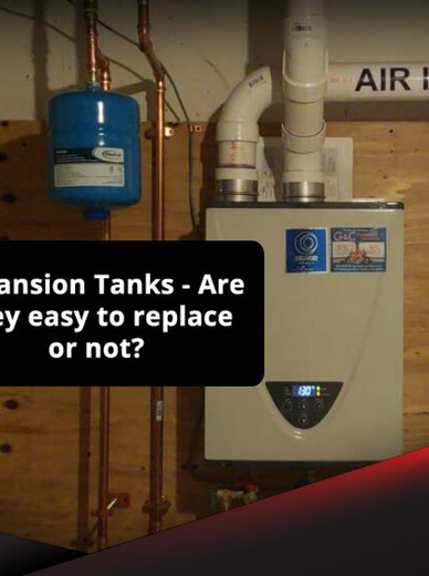 Should I Replace a Hot Water Expansion Tank on My Own?