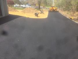 Installing driveway