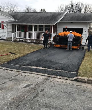 Parking Pad Paving