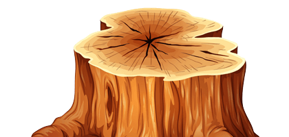 Tree Stump Graphic