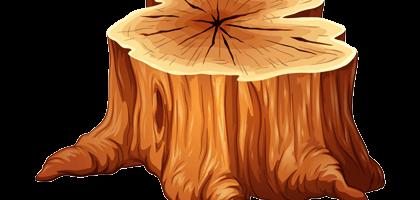 Tree Stump Graphic