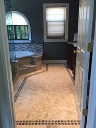 Full View of Bathroom Remodel